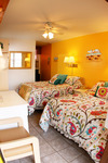 Value Room - 2 Double Beds - Street/Parking View.  Ideal for Travelers on a Tight Travel Budget. Picture 2