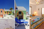 Gloriously Colorful and Cheerful Oceanfront Beach House Picture 1