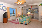 Gloriously Colorful and Cheerful Oceanfront Beach House Picture 4